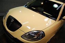コンセプトは「小さな高級車」。ランチア・イプシロンのガラスコーティング【ラディアス川崎】