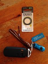 メインキーの電池交換