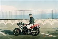 25年前は冬でもバイクに乗ってたらしい