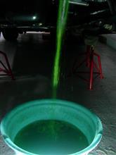 緑の水ぬき