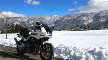 冬の晴れ間にバイクで一回り