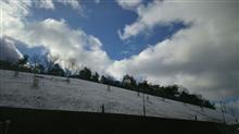 ノーマークの積雪だった日曜出勤―