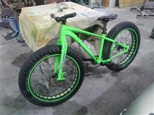 なんでも塗装しちゃいますよー!!自転車をカスタムペイント♪
