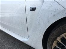 洗車した当日に汚す