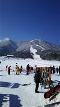 スキーに行きました。