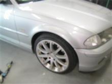 BMW E46ロアコンブッシュ交換