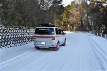 D5での初雪遊び