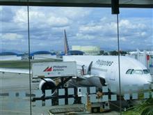 マニラ空港でのドメスティク国内線に乗り換え