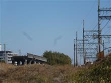 近鉄名古屋線の産業遺産(木曽川橋梁の関西線乗り越え橋)