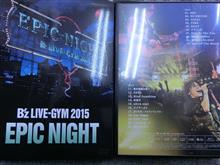 B'z LIVE-GYM 2015  EPIC NIGHT  DVD