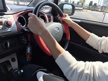 次男の運転で初ドライブ!