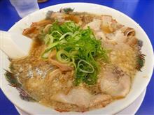 チャーシュー麺粉落としッ(笑)
