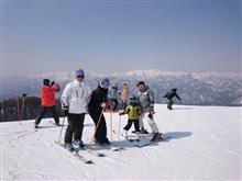 親父復活記念 家族スキー