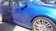 やっとお洗車