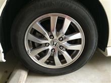 タイヤ交換😏