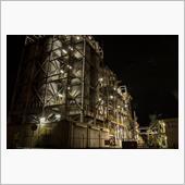 初・工場夜景の撮影