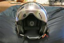 ヘルメットを春仕様に。