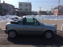 北海道の3月はちょっと早すぎた…