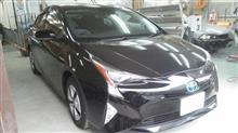 『トヨタ プリウス 新車 ガラスコーティング』立川市内からご来店のお客様です。