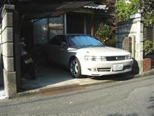 (JZX90) 最後の洗車