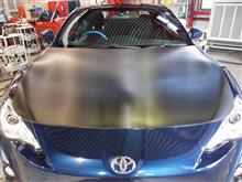 トヨタ86にカーボンラッピング施工しました。