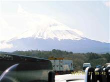 オープンカー倶楽部関東の富士山TRGに参加して来ました!(出発~集合場所)