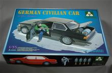 タコム 1/35 ヨーロッパ乗用車(BMW E21) 民兵フィギュア付き