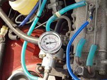 ブーストアップと燃圧調整