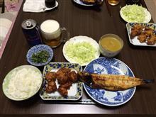 唐揚げ+鯖塩