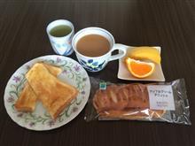 トースト+アップルクリームデニッシュ
