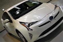 ハイブリッドといえばこの車 トヨタ・新型プリウスのガラスコーティング【リボルト名古屋】】