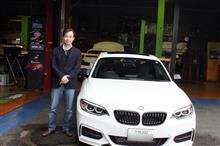 BMW M235 納車
