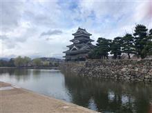 昨日の松本城