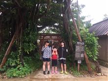 沖縄旅行3日目 親子ガジュマル