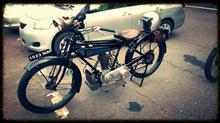 93年前の走るバイクに感動!