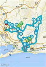 一人耐久400kmツーリング♪【浜名湖、秋葉街道、天龍村etc】
