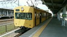 近江鉄道米原駅にて。