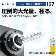 BREX ULTRA Blighter107 まずはD1S 6000Kから。