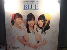 """Trident LAST LIVE ~Thank you for your """"BLUE""""@幕張~"""