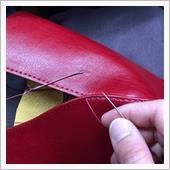 チクチク縫ってます。