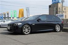 メンテナンスは大事....BMW F11 エンジンオイル交換 ワコーズ4CT-S