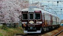 桜と阪急電車。  2(途中で編集中止に)