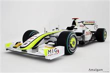 ジェンソン・バトンのブラウンGP F1マシンがグッドウッドで復活