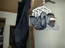 お洗濯・・・(^^;
