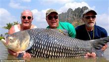 死んだ友人の遺灰で釣りをした結果→巨大魚釣れる→神様ありがとう!