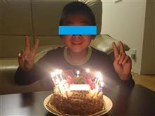 息子、13歳の誕生日🎁🎂