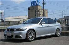 メンテナンスは大事...BMW E90 320 エンジンオイル+フィルター交換