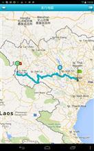 カブで走る!1日500キロ(ダート、ガレ場、渡河あり)