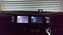 助手席側にモニター増設&吹き出し口のLED交換!