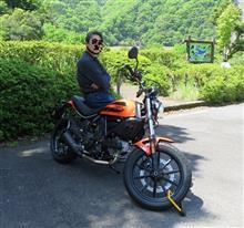 レンタル・バイクで丹沢湖へ行ってみた